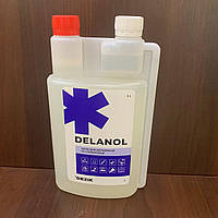 Средство для дезинфекции поверхностей, кожи рук и стерилизации изделий Деланол, 1 л