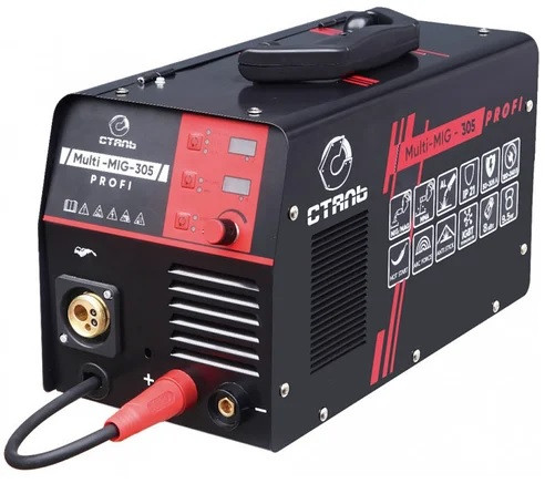 Полуавтомат сварочный инверторного типа Сталь Multi Mig-305 Profi