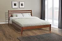 Кровать деревянная Челси 140-200 см (лесной орех)
