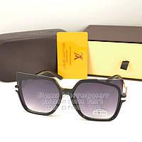 Женские солнцезащитные очки Louis Vuitton квадратные Брендовые Модные 2020 Луи Виттон реплика