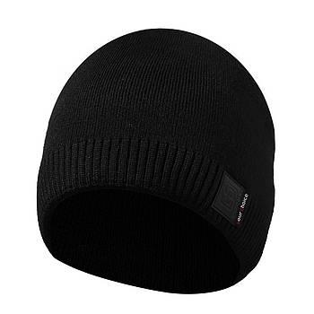 Зимняя мужская шапка черная