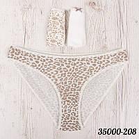 Женские трусы бикини узорные в наборе Dominant (Турция) 35000-208   3 шт.