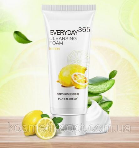 Пенка для умывания Rorec Everyday 365 Cleansing Foam Lemon, 120 гр
