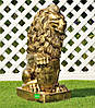 Садовая фигура Лев с левым и Лев с правым щитом большие, фото 3