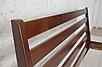 Кровать деревянная Челси 140-200 см (лесной орех), фото 4