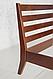 Кровать деревянная Челси 140-200 см (лесной орех), фото 5
