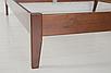 Кровать деревянная Челси 140-200 см (лесной орех), фото 7