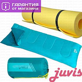 Спальный мешок (спальник туристический) одеяло Лето, спальний мішок, теплый, спальный мешок-одеяло Evade 15