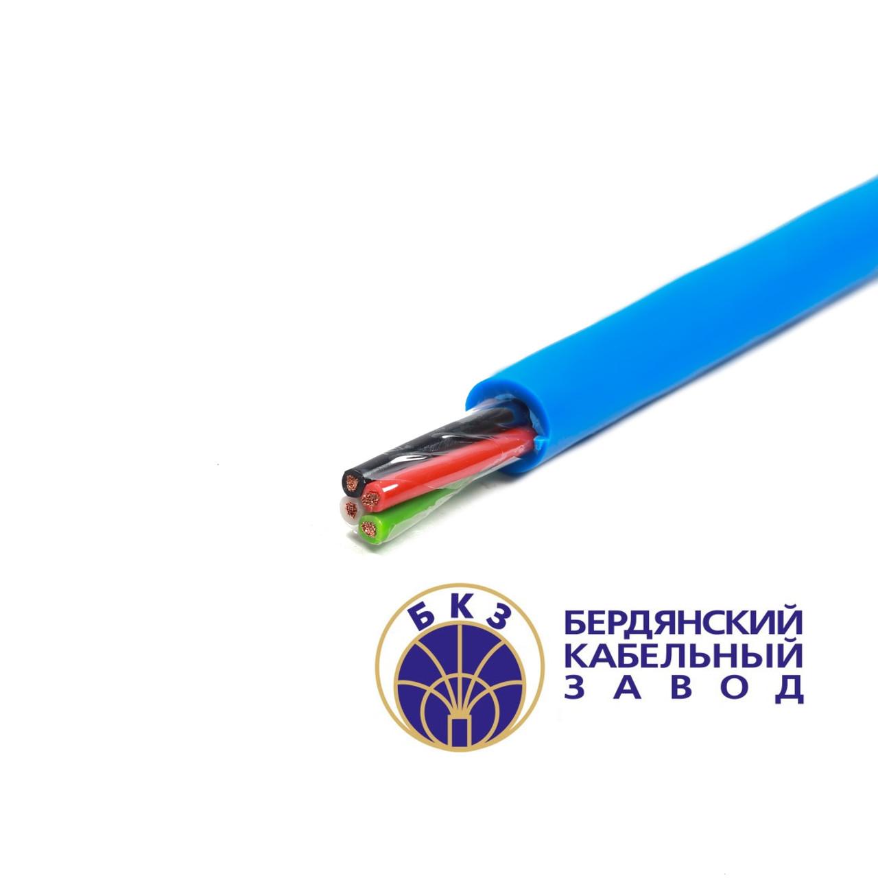 Кабель медный гибкий силовой КГНВ 3х95+1х50 0,66кВ маслостойкий бензостойкий морозостойкий провод ПВС | КГ