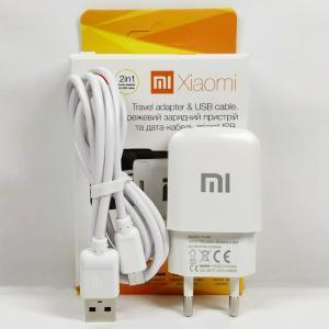 Зарядное устройство Xiaomi Mi, кабель (шнур) micro USB 1.2 м для телефона, 2 А, зарядка сяоми / ксиоми