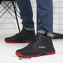 Ботинки мужские зимние с красной подошвой -20°C, фото 3