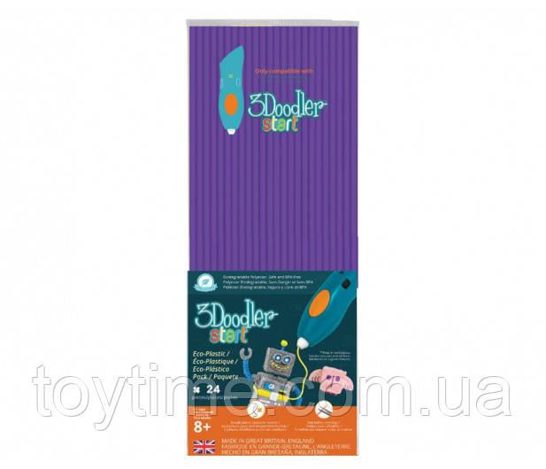 Набор стержней для 3D-ручки 3Doodler Start Фиолетовый  / Пластик для 3Д ручки 3Дудлер Старт стержни фиолетовые