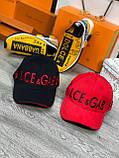 Брендовая бейсболка Dolce&Gabbana D9870 красная, фото 5