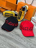 Брендовая бейсболка Dolce&Gabbana D9870 красная, фото 6