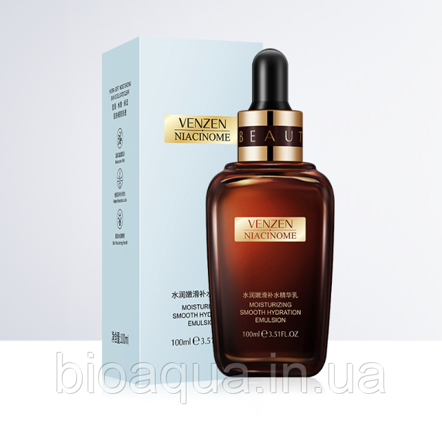 Сыворотка для лица Images VENZEN Niacinome Smooth Hydrating Essence (сужает поры) 100 ml