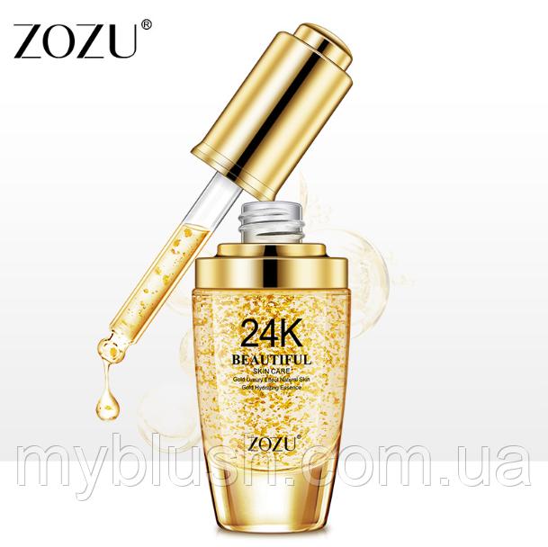 Сыворотка для лица ZOZU Gold Luxury 24 k 30 ml
