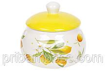 Медовница керамическая 500мл Сочные лимоны