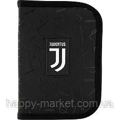 Пенал без наполнения Kite Education 1 отделение 2 отворота  FC Juventus JV20-622