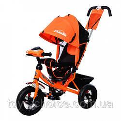Велосипед трехколесный TILLY Camaro T-362. Оранжевый PS