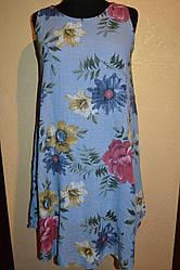 Женское леновые сарафаны   больших размеров