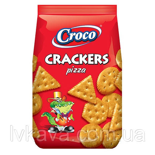 Крекер со вкусои пиццы Croco , 100 гр