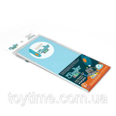 Набор стержней для 3D-ручки 3Doodler Start Пастельно-голубой  / Пластик для 3Д ручки 3Дудлер Старт стержни