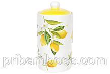Банка керамическая 1л Сочные лимоны