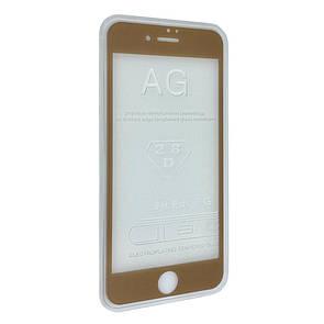 Защитное стекло  весь экран matt for Apple iPhone 7 Plus front (gold)