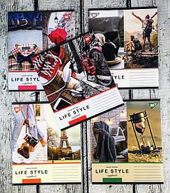 Зошит 48 аркушів клітинка Life style 764144 9610Ф++1 1 вересня Україна