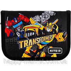 Пенал без наполнения Kite Education 1 отделение 2 отворота Transformers TF20-622-1