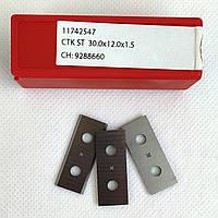 Ніж змінний тб/спл HW 30,0х12,0х1,5 CTOPP10 Ceratizit (Люксембург)