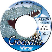 Леска зимняя Jaxon Crocodile winter 50m 0,16mm