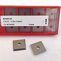 17,0х17,0х2,0 KCR08 ніж змінний тб/спл