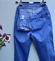 Летние эластичны джинсы размер наш 52 (Л-144), фото 3