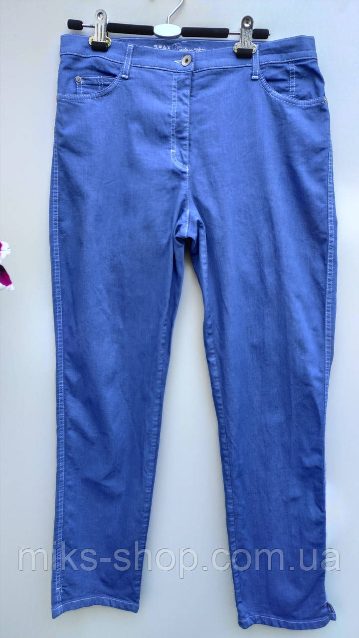 Летние эластичны джинсы размер наш 52 (Л-144)