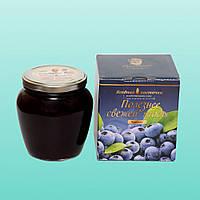 Черничная паста LiQberry, 550 г., фото 1