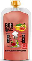 Пюре Бананово-Клубничное без сахара Bob Snail (400 грамм)