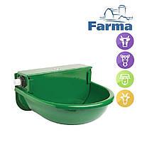 Поилка чашечная с поплавковым клапаном 2.5л для всех видов животных (лошади, коровы, овцы, козы) FARMA