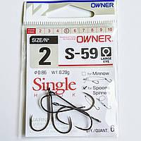 Крючки Owner S-59 51580 №2