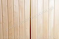 Вагонка из липы 77*14 мм. для бани и сауны.