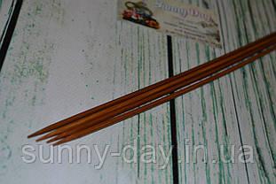 Дерев'яні спиці двосторонні 35см (набір 4шт) №3.5