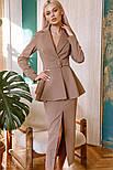 Діловий костюм зі спідницею міді, фото 2