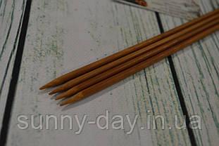 Дерев'яні спиці двосторонні 35см (набір 4шт) №5.0