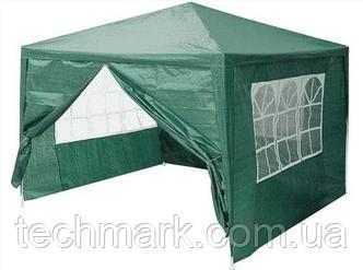 Раскладной павильон, садовый шатер, палатка, альтанка, тент 3x3 м.