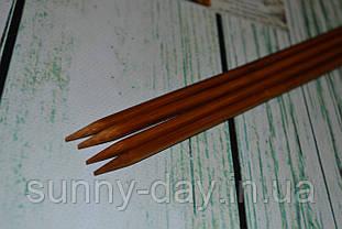 Дерев'яні спиці двосторонні 35см (набір 4шт) №6.0