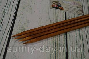 Дерев'яні спиці двосторонні 35см (набір 4шт) №7.0