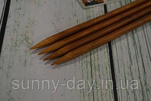 Дерев'яні спиці двосторонні 35см (набір 4шт) №8.0