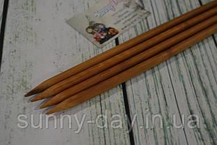 Дерев'яні спиці двосторонні 35см (набір 4шт) №9.0
