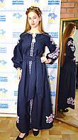 Сукня вишиванка в стилі бохо з Коломиї