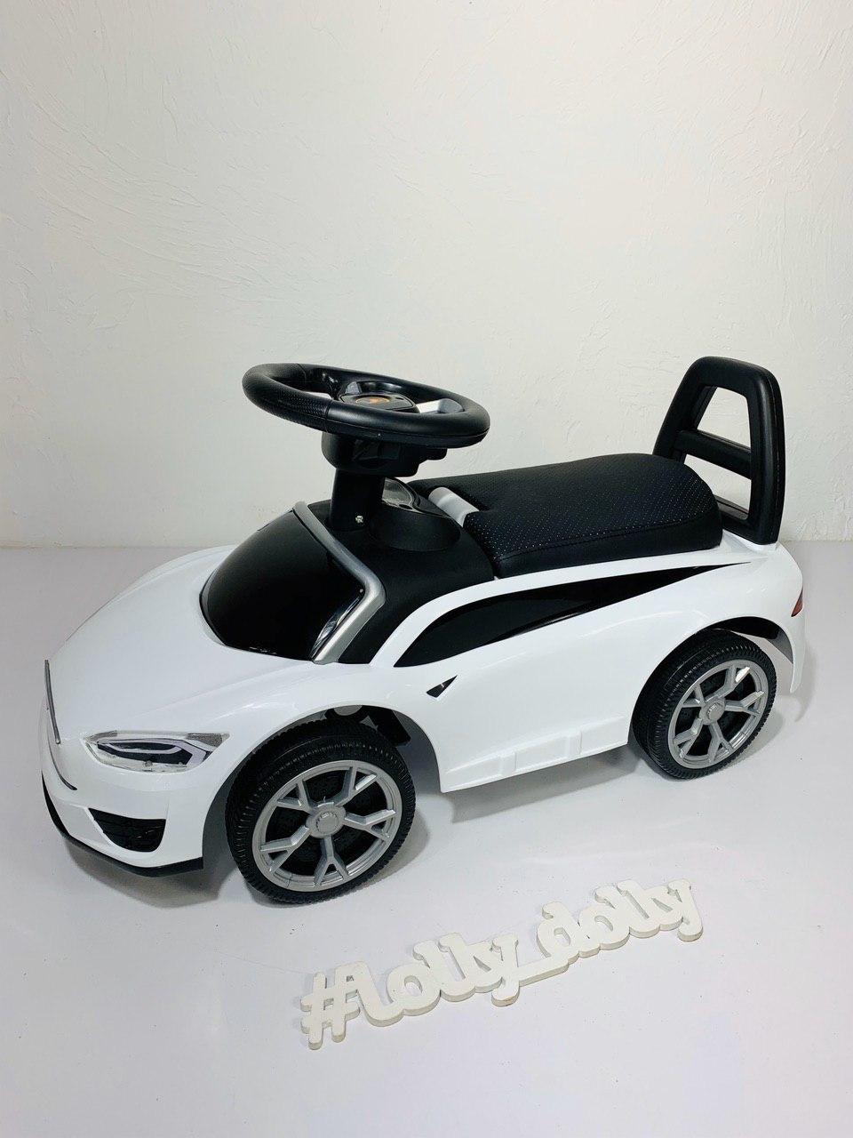 Машинка каталка-толокар Tesla Тесла M 4317L, Белый